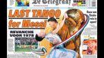 """Diario holandés y su retadora portada: """"Último tango de Messi"""" - Noticias de paises bajo"""