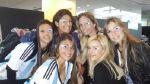 Holanda vs. Argentina: novias apoyan a argentinos en tribunas - Noticias de evangelina anderson