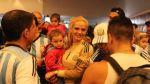 Eliana, esposa de Romero, compartió su alegría con El Comercio - Noticias de esposa de messi