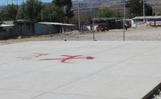 Aparecen pintas senderistas en Huamanga
