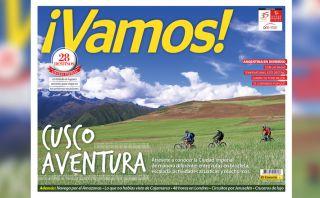 Cusco de aventura con la nueva edición de tu revista ¡Vamos!