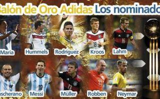 VOTA: ¿Quién debe ganar el Balón de Oro de Brasil 2014?
