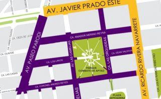 San Isidro: restringirán tránsito en el centro financiero