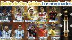 VOTA: ¿Quién debe ganar el Balón de Oro de Brasil 2014? - Noticias de mar de copas
