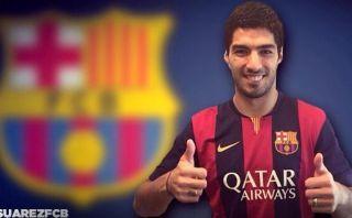 FIFA le prohíbe al Barcelona presentar a Luis Suárez