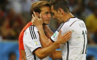 Klose reveló qué dijo a Götze cuando lo reemplazó en la final
