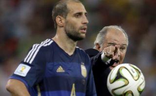 Zabaleta enfureció con periodista que preguntó sobre gol alemán