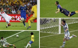 Brasil 2014: todos los goles en un gráfico interactivo