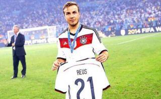 Mario Götze dedicó a Marco Reus el título de Alemania