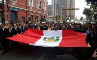 Actividad por Fiestas Patrias afectó el tránsito en el Cercado