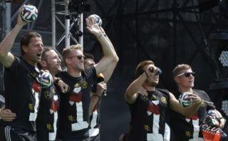 Alemanes se burlaron de Argentina en festejos en Berlín