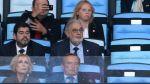 Lo que no se vio de los famosos en la final del Mundial - Noticias de david beckham