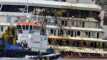 Reflotan El Costa Concordia, tras dos años de su hundimiento - Noticias de francesco schettino