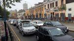 Actividad por Fiestas Patrias afectó el tránsito en el Cercado - Noticias de fernando villaran