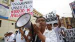 Médicos presentarán estudio sobre salarios al Congreso - Noticias de huelga de médicos
