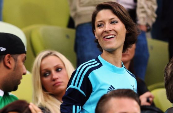 Kathrin Gilch, la esposa del campeón mundial Manuel Neuer
