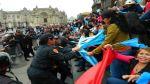 Enfermeras fueron retiradas a golpes por PNP de Plaza de Armas - Noticias de huelga de enfermeras