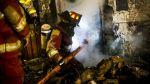 Incendio destruyó casa de ex jugador de Alianza Lima - Noticias de escasez de agua