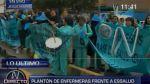 Enfermeras de Essalud niegan que su huelga sea ilegal - Noticias de huelga de enfermeras