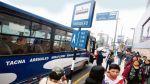 Eje Tacna-Arequipa: piden que buses no cobren en primeros días - Noticias de robert chavez falconi