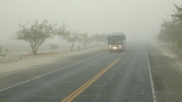 Nubes de polvo y vientos intensos golpean Ica