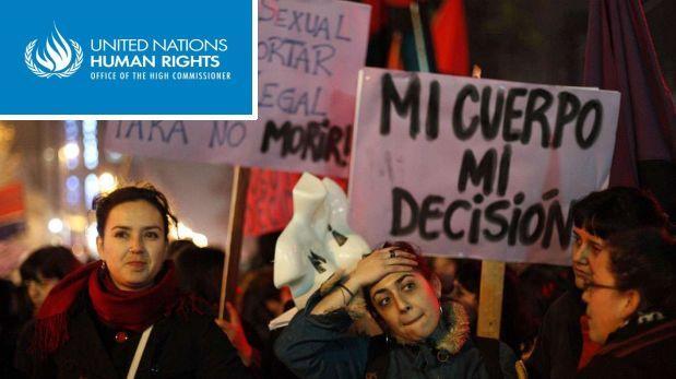 La ONU insta a Chile a despenalizar el aborto por violación