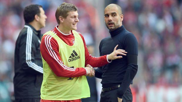 Guardiola intentó convencer a Kroos para que no deje el Bayern