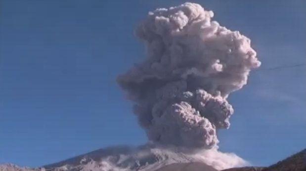 Volcán Ubinas emitió 15 millones de metros cúbicos en dos años
