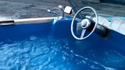 VIDEO: Convirtieron un carro en Jacuzzi