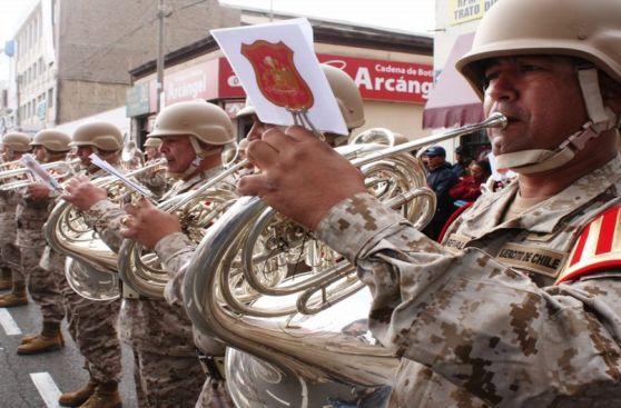 Así se iniciaron las celebraciones de fiestas patrias en Tacna
