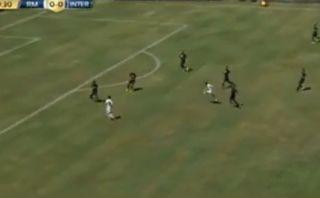 Gareth Bale marcó este golazo de fuera del área contra el Inter