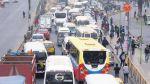 ¿A qué se atribuye la congestión vehicular? - Noticias de luis quispe candia