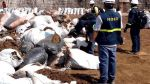 Paita: Produce decomisó 131 toneladas de residuos marinos - Noticias de bertha velasquez