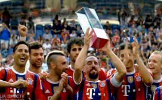 Bayern goleó 3-0 a Wolfsburgo y se quedó con la Telekom Cup