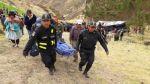 Al menos 10 muertos deja caída de cúster a abismo en Cajatambo - Noticias de general pnp