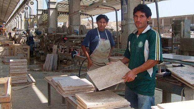 Dex env os de m rmol peruano caen 13 entre enero y mayo for Placas de marmol y granito