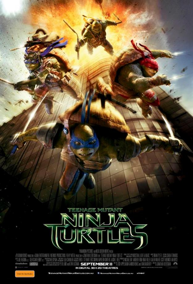 [Foto] Póster de las Tortugas Ninja desata polémica en EE.UU.