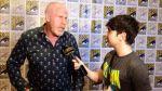 Bruno Pinasco tuvo encuentro con Hellboy en la Comic-Con - Noticias de ron perlman