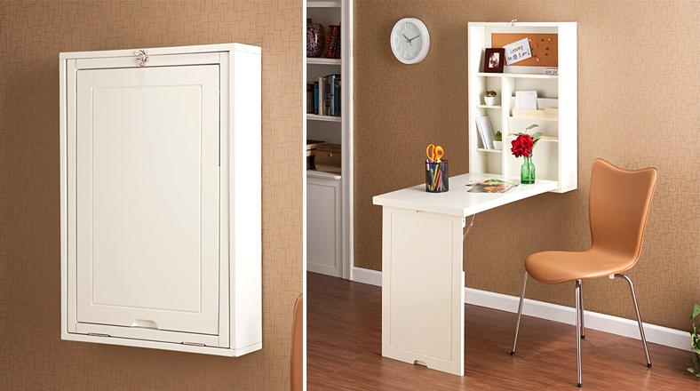 Oficina de pared mira este original mueble para el hogar for Muebles y decoracion para el hogar