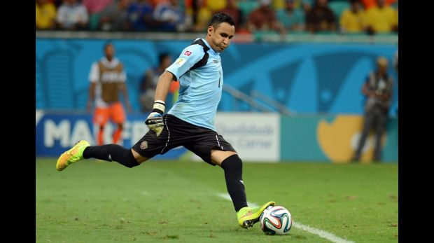 Keylor Navas, guardameta costarricense (Foto: Getty Images)