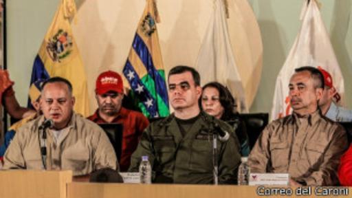 El presidente de la Asamblea Nacional, Diosdado Cabello, visitó Ciudad Guayana, la zona industrial más importante de Venezuela.