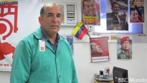 José Clemente Tatá es el director del Sidor.