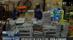 Incautaron cientos de documentos falsos en el jirón Azángaro - Noticias de operativos policiales