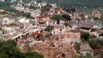 Terremoto en China: al menos 175 muertos y 1.400 heridos - Noticias de lluvias intensas
