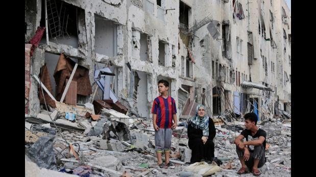 Reconstrucción de Gaza costará al menos US$ 5 mil millones