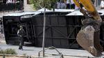 Video registró el atentado con excavadora en Jerusalén - Noticias de jerusalén