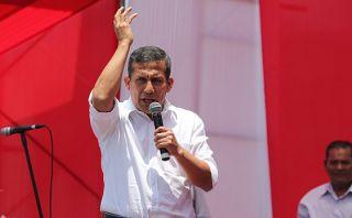Ollanta Humala cuestionó liberación de miembros del Movadef