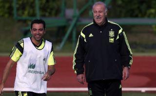 """Del Bosque: """"Xavi fue clave en el estilo de la selección"""""""
