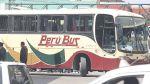 Dos heridos dejó choque de ómnibus interprovincial con camión - Noticias de accidente de bus
