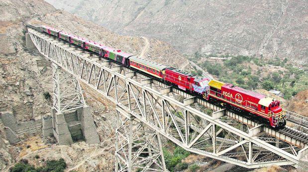 Daños en Ferrocarril Central complican transporte de mineral